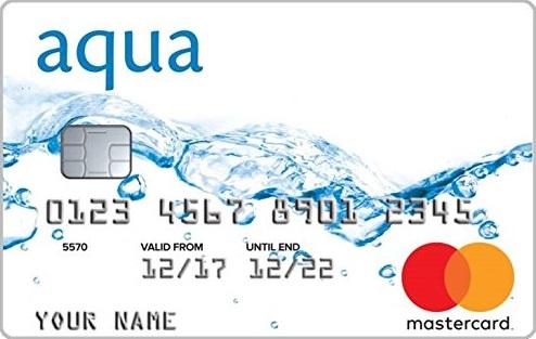 Aqua | Classic credit card