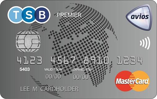 TSB Premier Avios Credit Card Ex/C (MCard)
